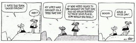 Good Friday Comic