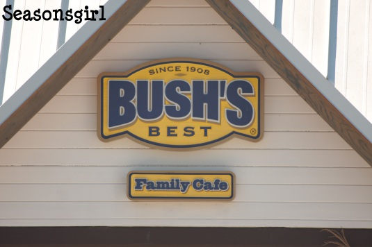Bushes sign